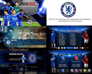 All Mods Graphic Chelsea PES 2013