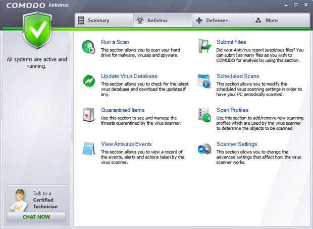 COMODO Antivirus 2012 Screenshot 2