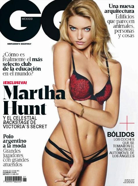 FOTOS: Martha Hunt Revista GQ Magazine México Febrero 2015