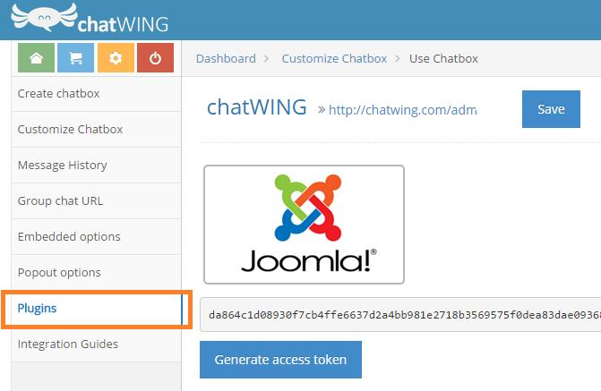 Chat Room Joomla