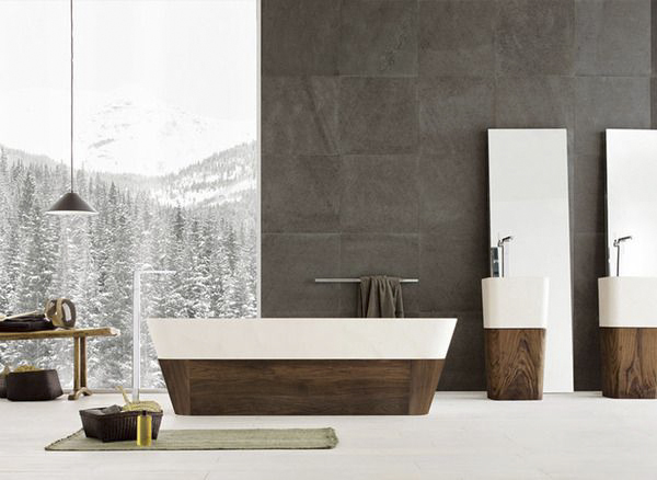 Stylish Bathrooms Inspired By Nature