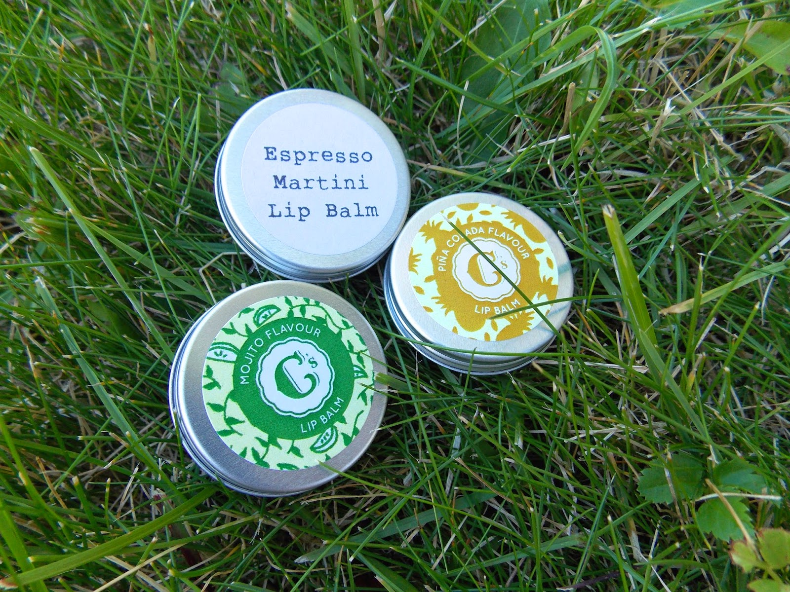 Sweet Cecily's Cocktail Flavoured Lip Balms