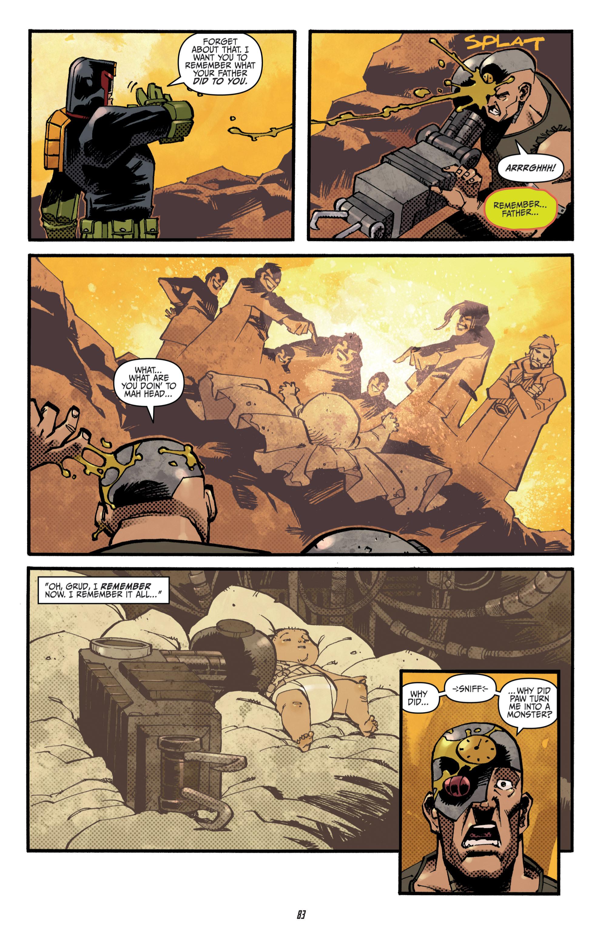 Read online Judge Dredd (2012) comic -  Issue # _TPB 3 - 83