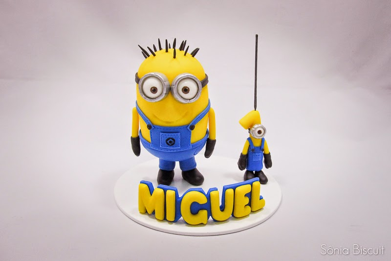 Minion Meu Malvado Favorito Despicable Me Biscuit