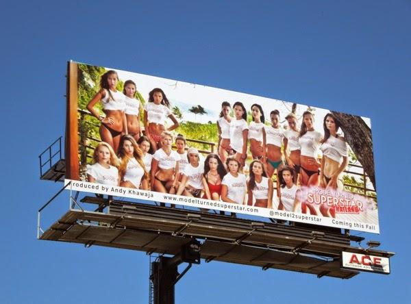 Model Turned Superstar Thailand billboard