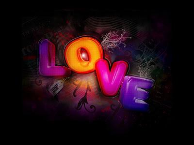 Fusional Love - love word
