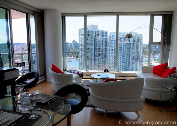Apartment style living, Vancouver Canada