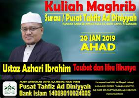 Kuliah Maghrib 20 Jan 19