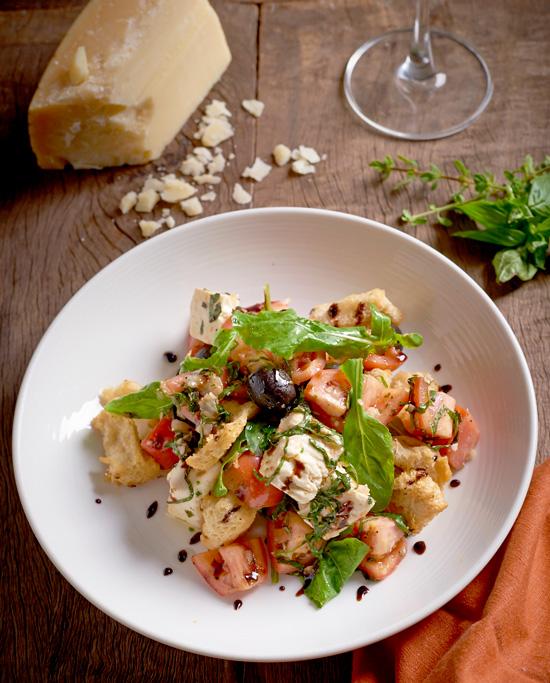 Italianni's Indulgent Plates