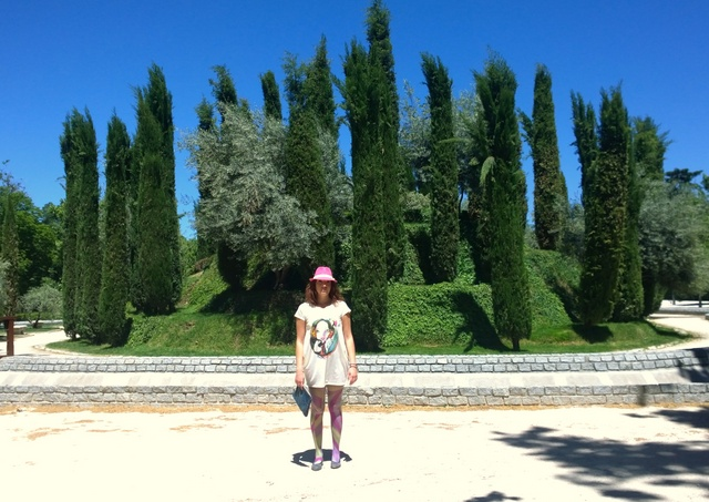 Bosque del recuerdo madrid