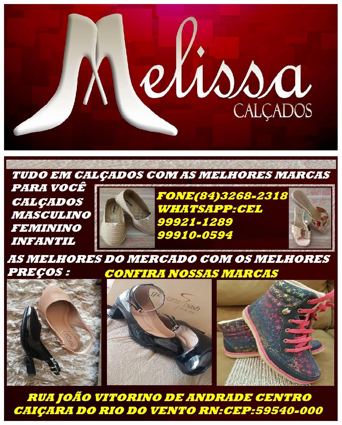 MELISSA CALÇADOS CAIÇARA //RN