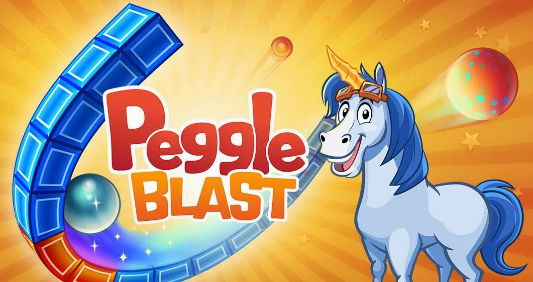 Peggle Blast Gameplay