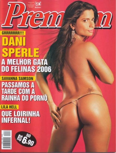 Confira as fotos da modelo ex-namorada de Alexandre Frota e amiga colorida do Adriano Imperador, Dani Sperle capa da Sexy Premium de fevereiro de 2006!