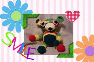 Yarnie the Moochie Kanoochie Bear pattern