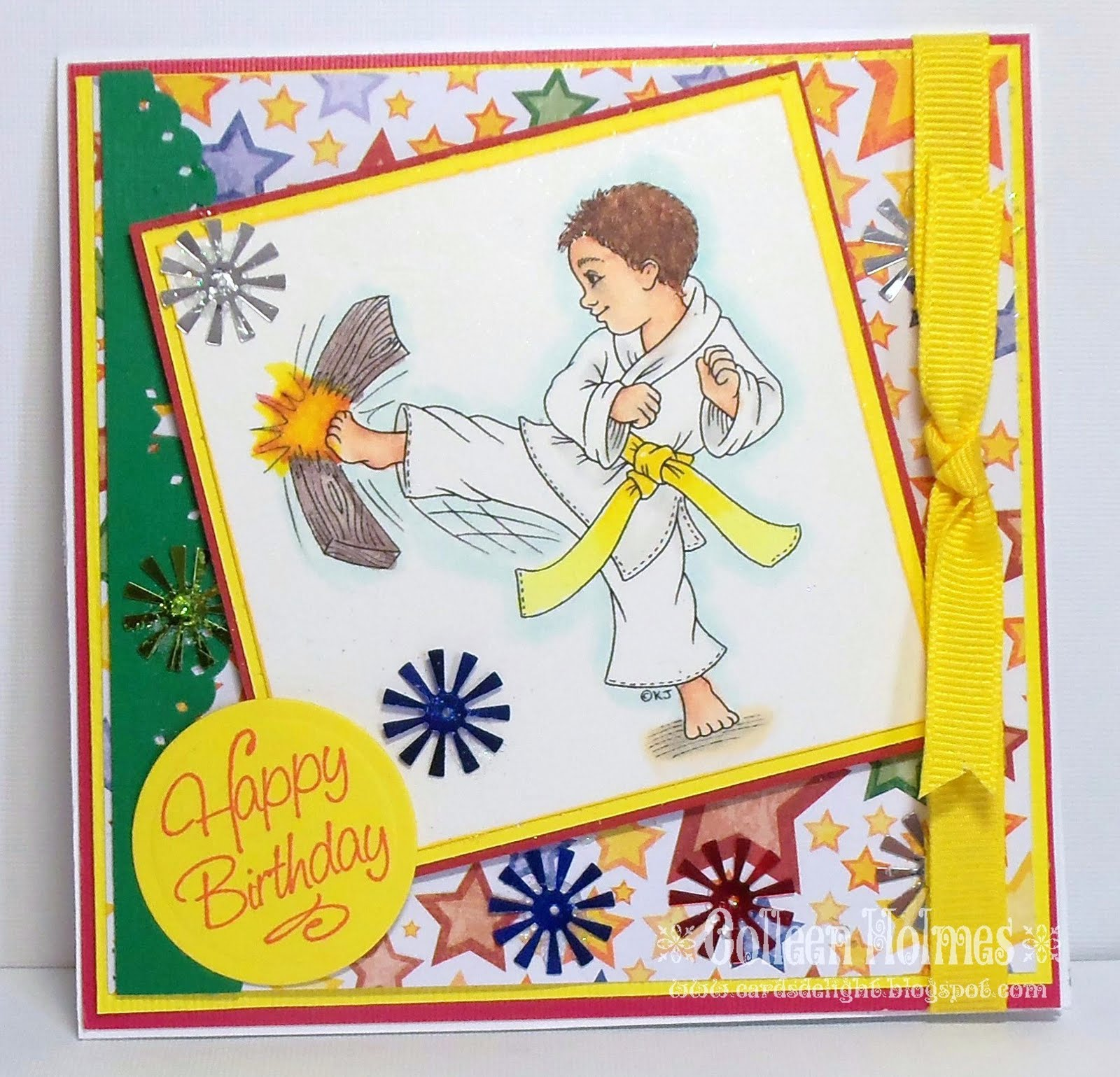 Картинки с днем рождения каратисту