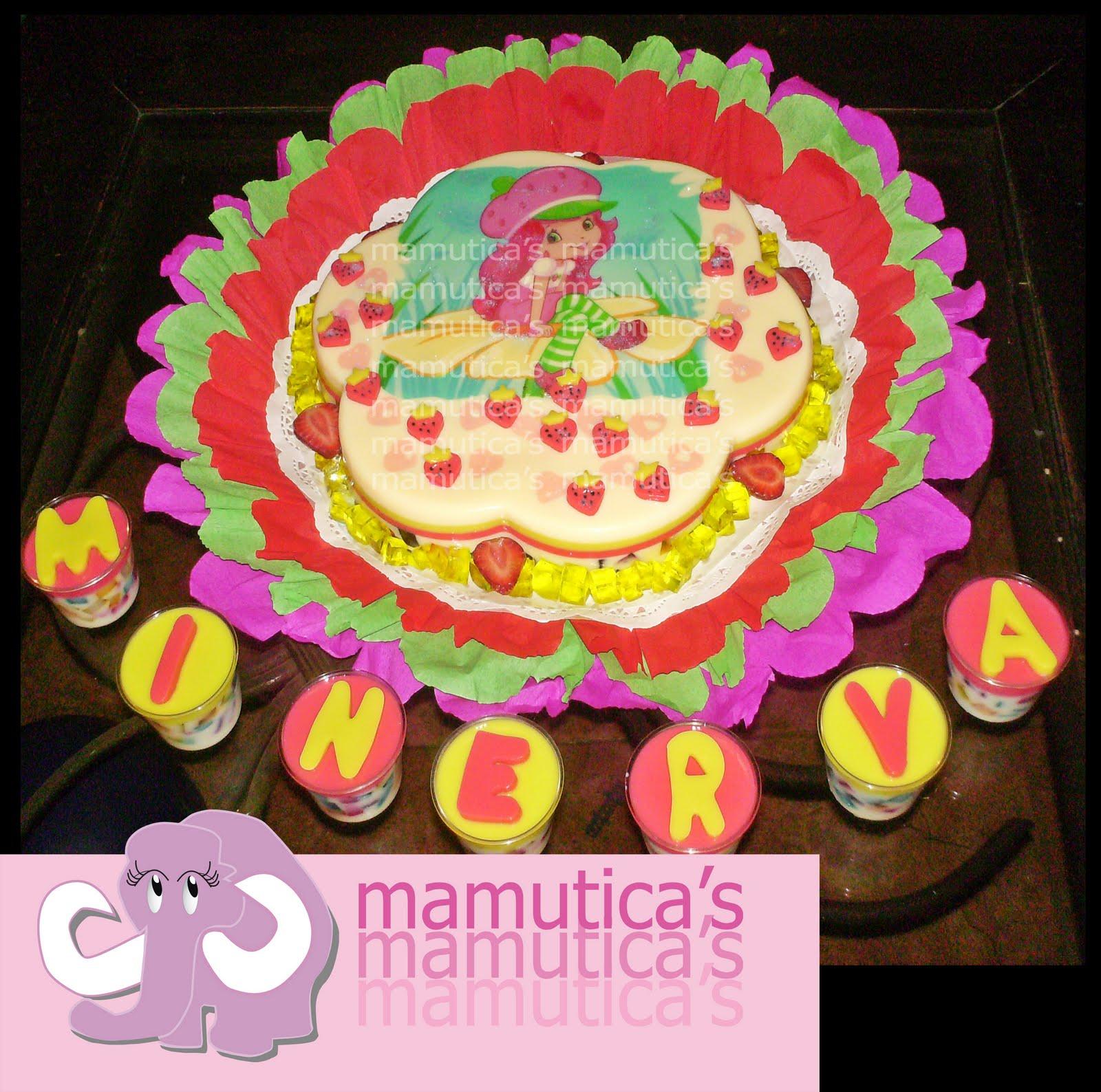 Tortas y gelatinas decoradas de rosita fresita - Imagui