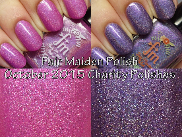 Fair Maiden Polish October 2015 Charity Polishes