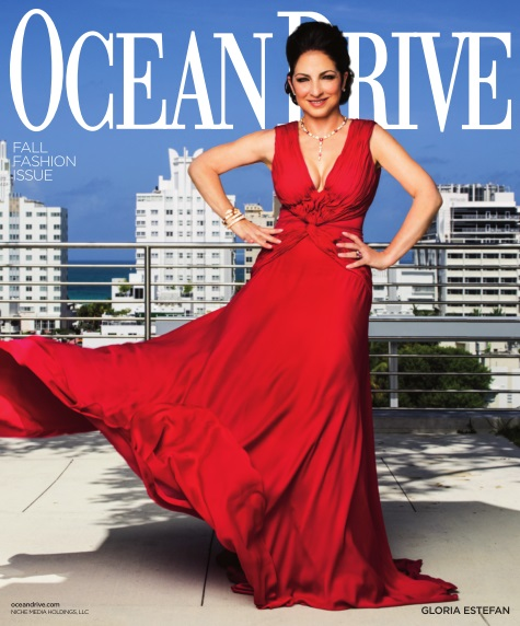 Gloria Estefan covers Ocean Drive Magazine