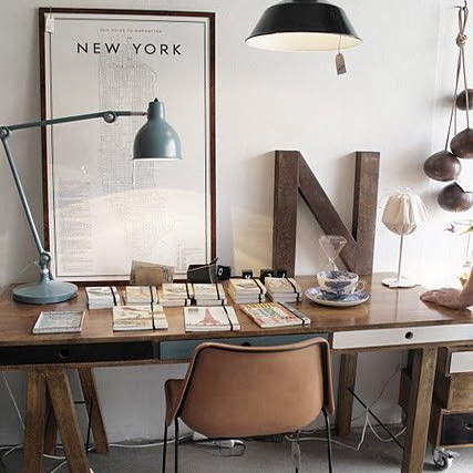Urban style home office