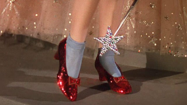 The Ruby Slippers, The Wizard of Oz