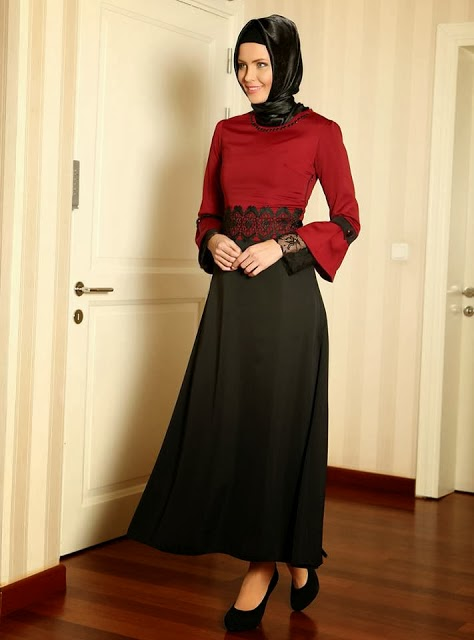 Robe pour hijab chic