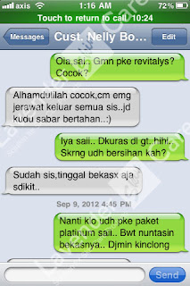 Testimonial Cream Revitalys