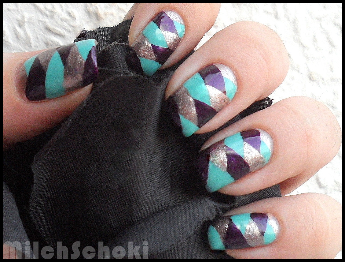 Beautyecke Nageldesign - Braided Nails/Fischgru00e4tenzopf