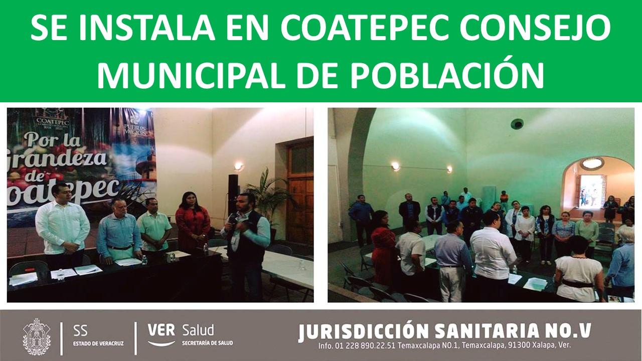 CONSEJO MUNICIPAL DE POBLACIÓN