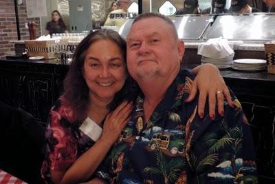 Oma and Opa enjoyed Grimaldi's Pizzeria.