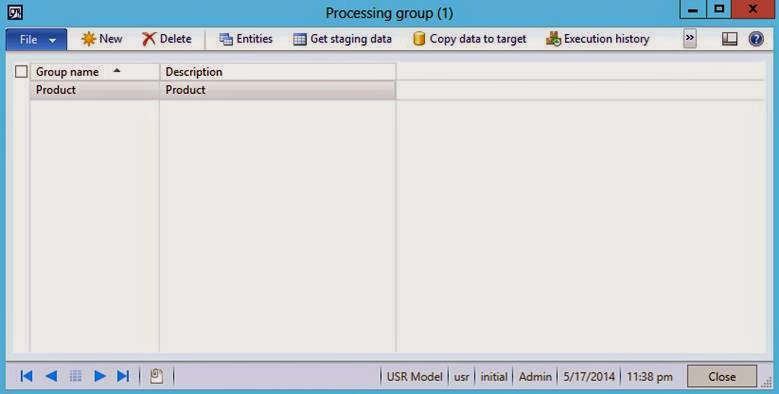 import using migration frameworkimport customer master through export ...