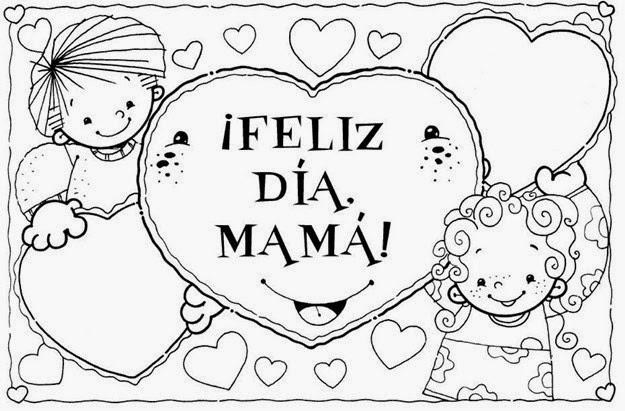 Dorable Mejores Mamás Para Colorear Imágenes - Páginas Para Colorear ...