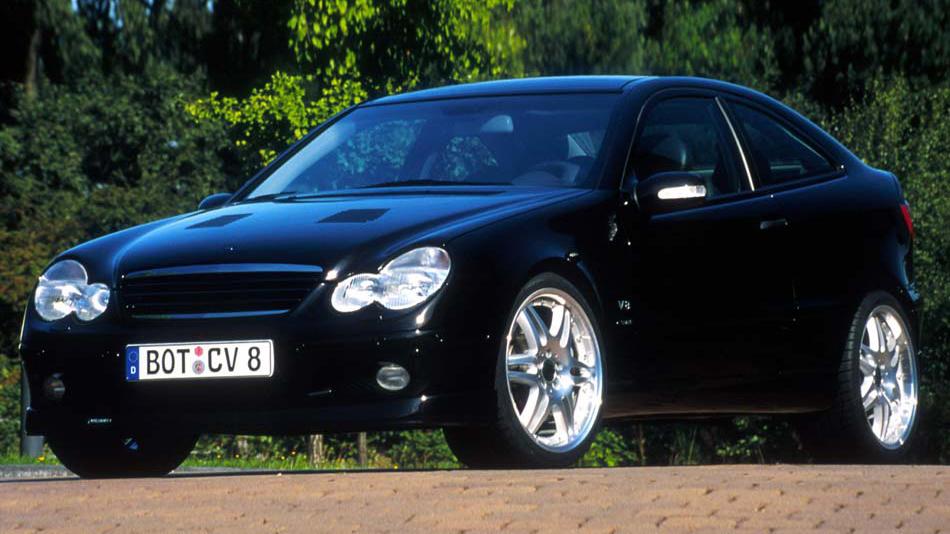 """2004 W203 C 55 AMG Aut5 RWD on 18"""" 5.4 V8 367 cv 52 mkgf 250 kmh 0-100 ..."""