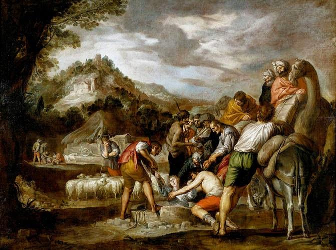 José entregado por sus hermanos