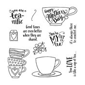 March Stamp of Month Tea-rrific
