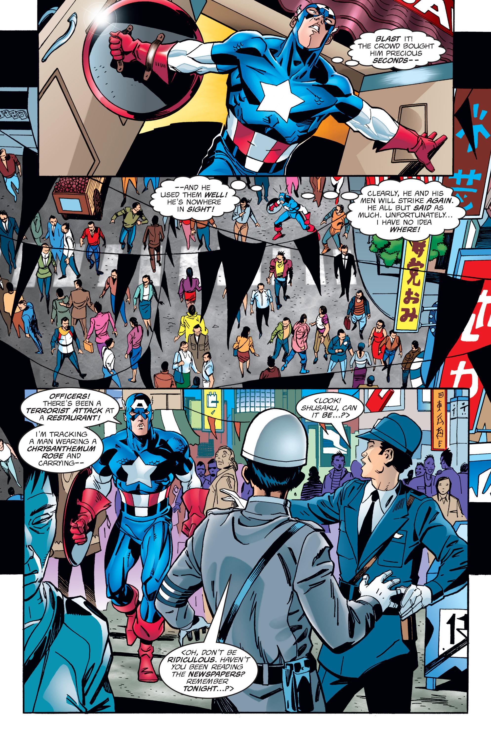 Captain America (1998) Issue #1 #4 - English 10