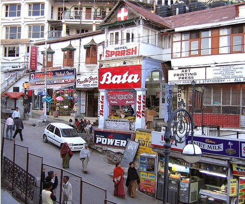 The Mall Mussoorie India