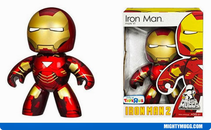 Iron Man Mark VI Iron Man 2 Marvel Mighty Muggs Exclusives