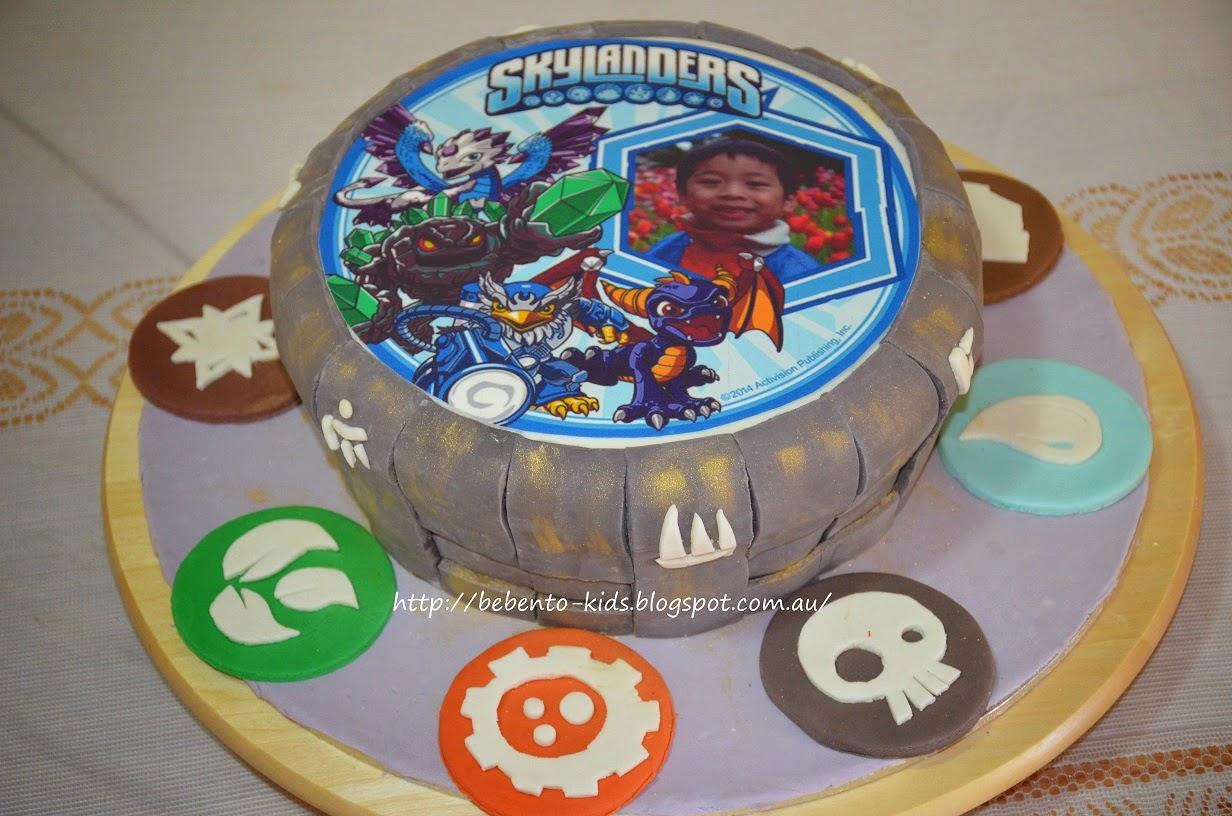Birthday Cake Skylanders