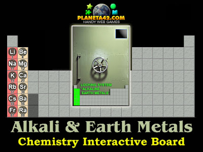 Alkali and Alkaline Earth Metals Game