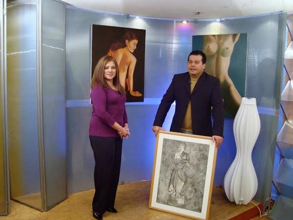 Entrevista en canal de TV Vertice