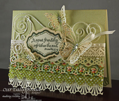 Special Blend, Antique Label Designs Stamp and Die