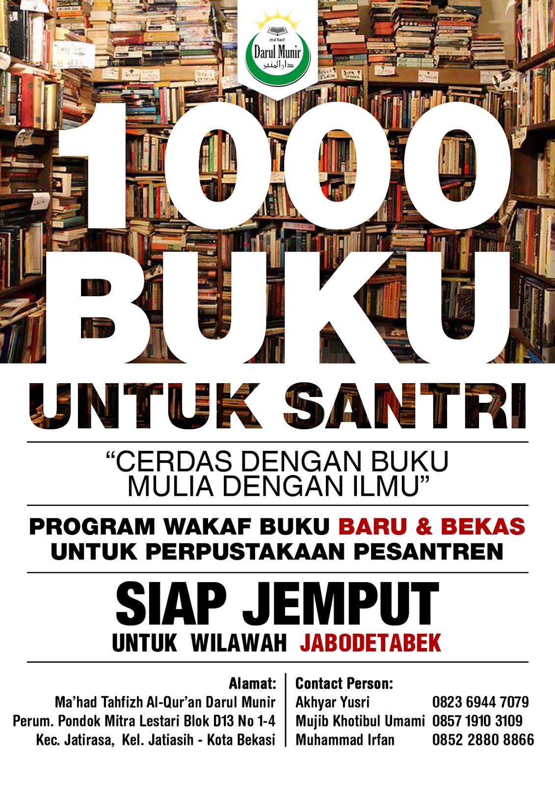 Wakaf 1000 Buku