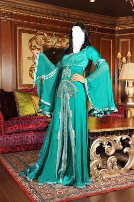 فساتين مغربية