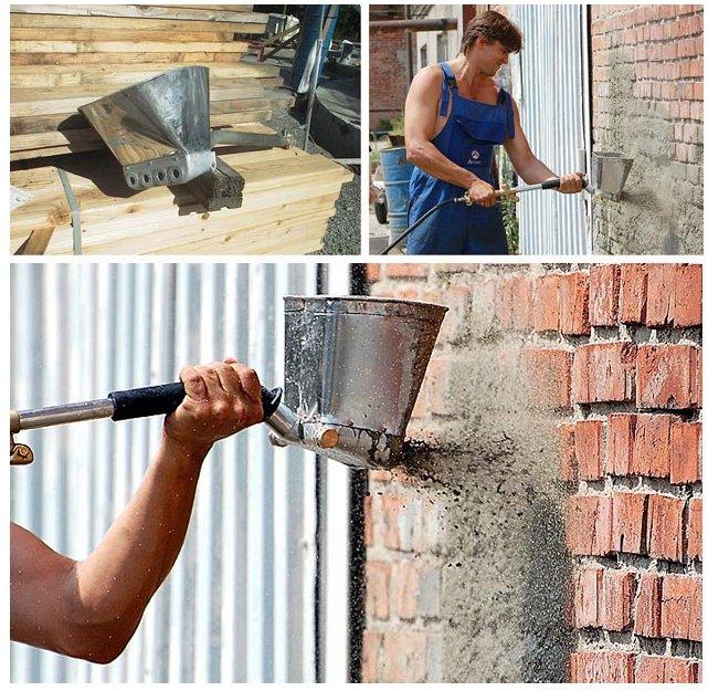 Приспособления для штукатурки стен