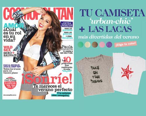 Regalos Cosmopolitan agosto 2013