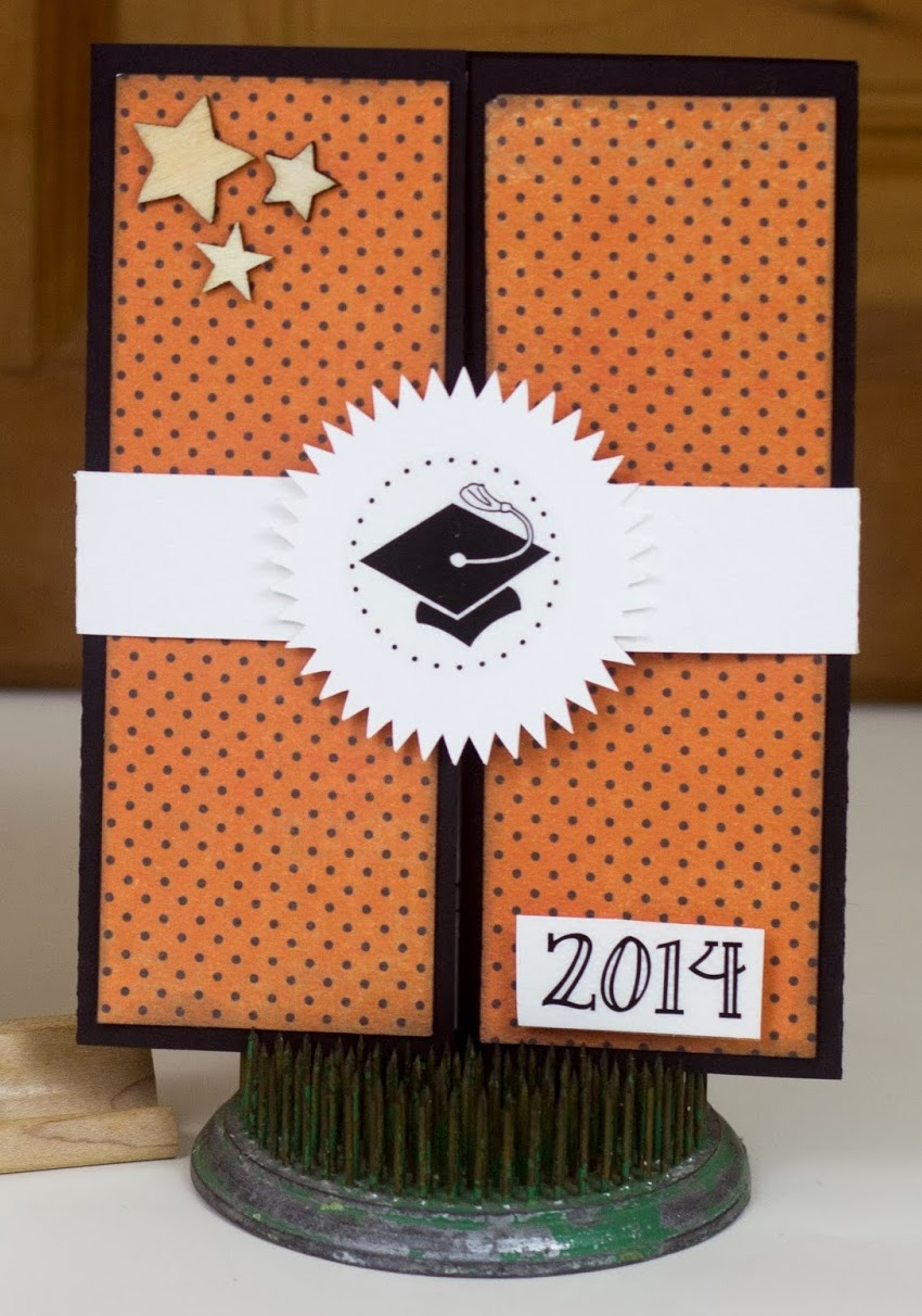 SRM Stickers Blog - Graduation Invite & Favor by Corri - #card #2014 #graduation #stickers