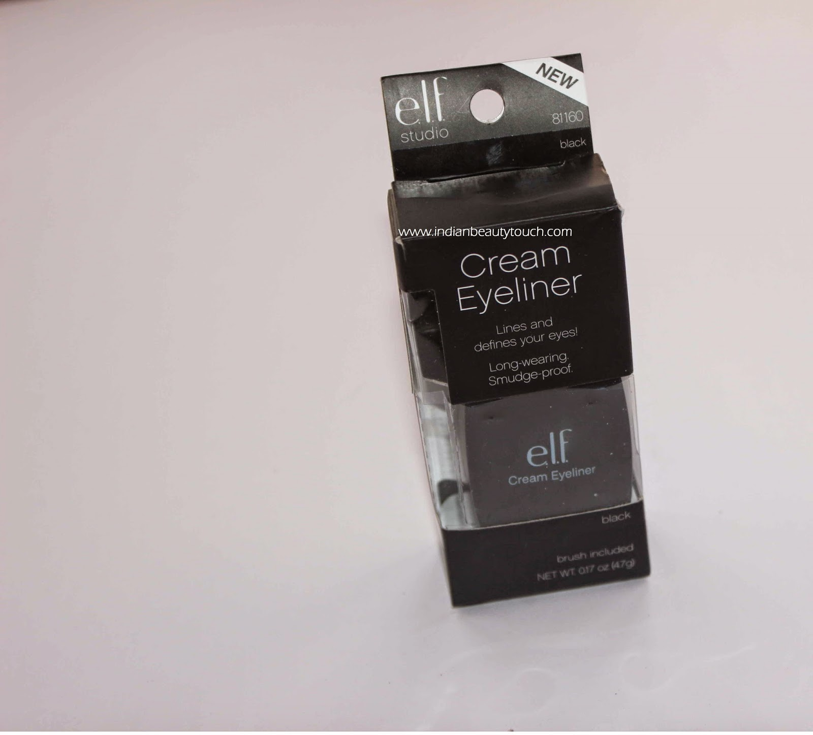E.L.F. Cream Eyeliner in Black Review, Elf cosmetics, Elf eyeliner , Affordable Gel eyeliner , E.L.F. Cream Eyeliner in Black Review India