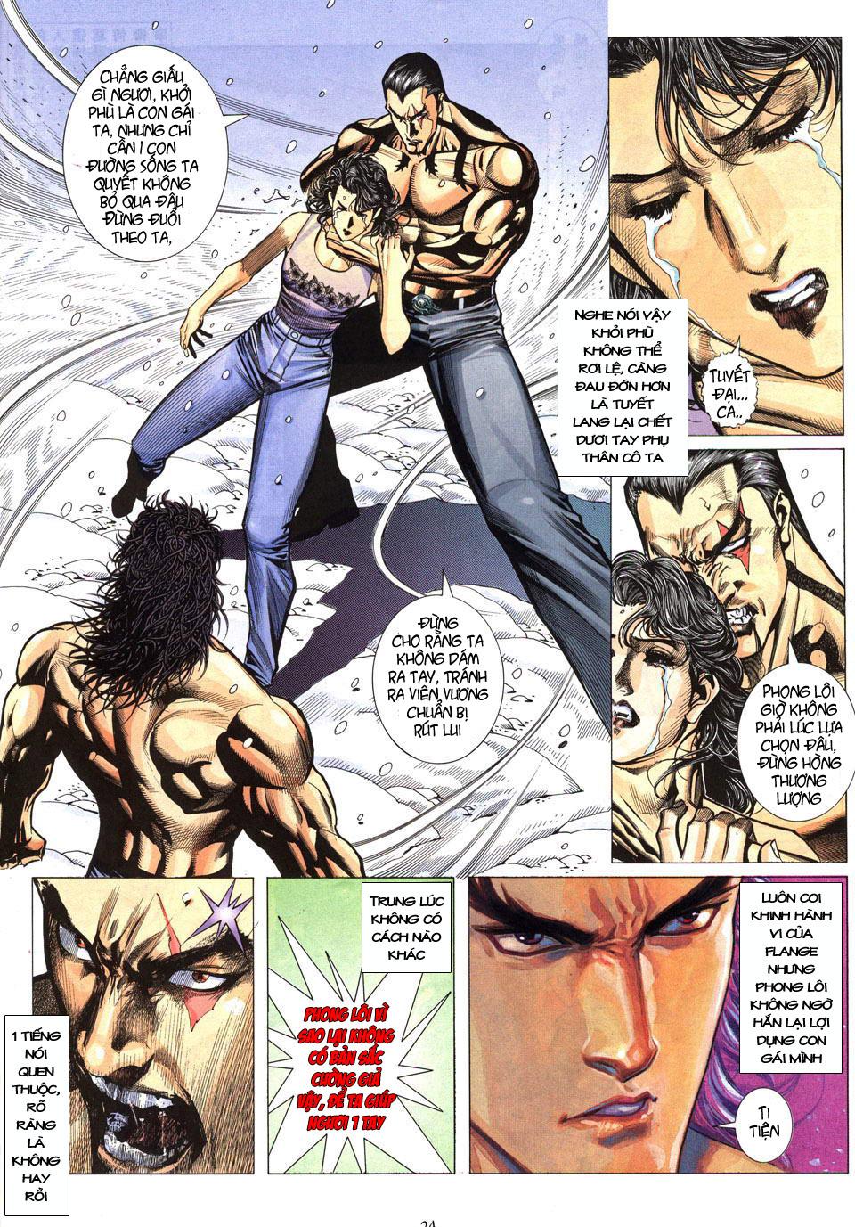 Phong Lôi chap 40 - Trang 25