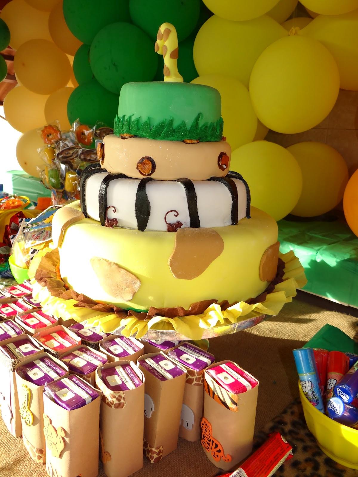 GO PARTY PANAMA: Cumpleaños temático: Animales de la Jungla