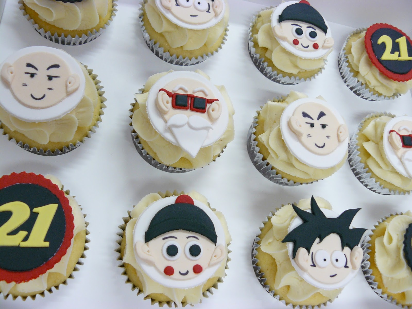 Dragon Ball Z Cake Decorations The Cup Taste Brisbane Cupcakes 37